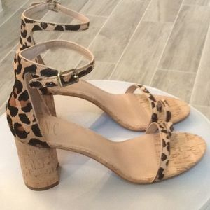 NEW INC Gorgeous Leopard Print Heels!